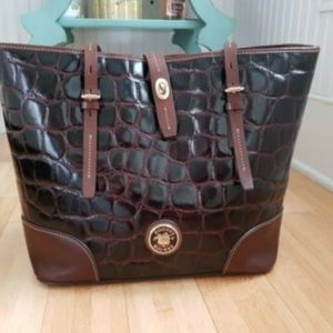 Dooney and Bourke Richmond Croc Embossed Tote